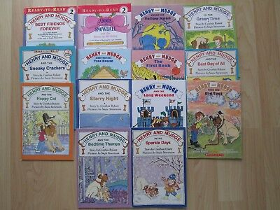 HENRY MUDGE LOT 14~18 Stories~Best Friends~Big Test~Best Day~Green Time~Hppy
