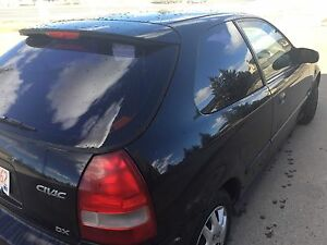 1999 honda civic hatchback  dx