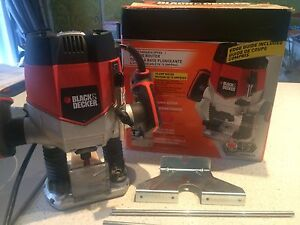 Plunge router Black and Decker