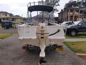 2004 Stacer 525 SeaMaster Sports 90hp Lurnea Liverpool Area Preview