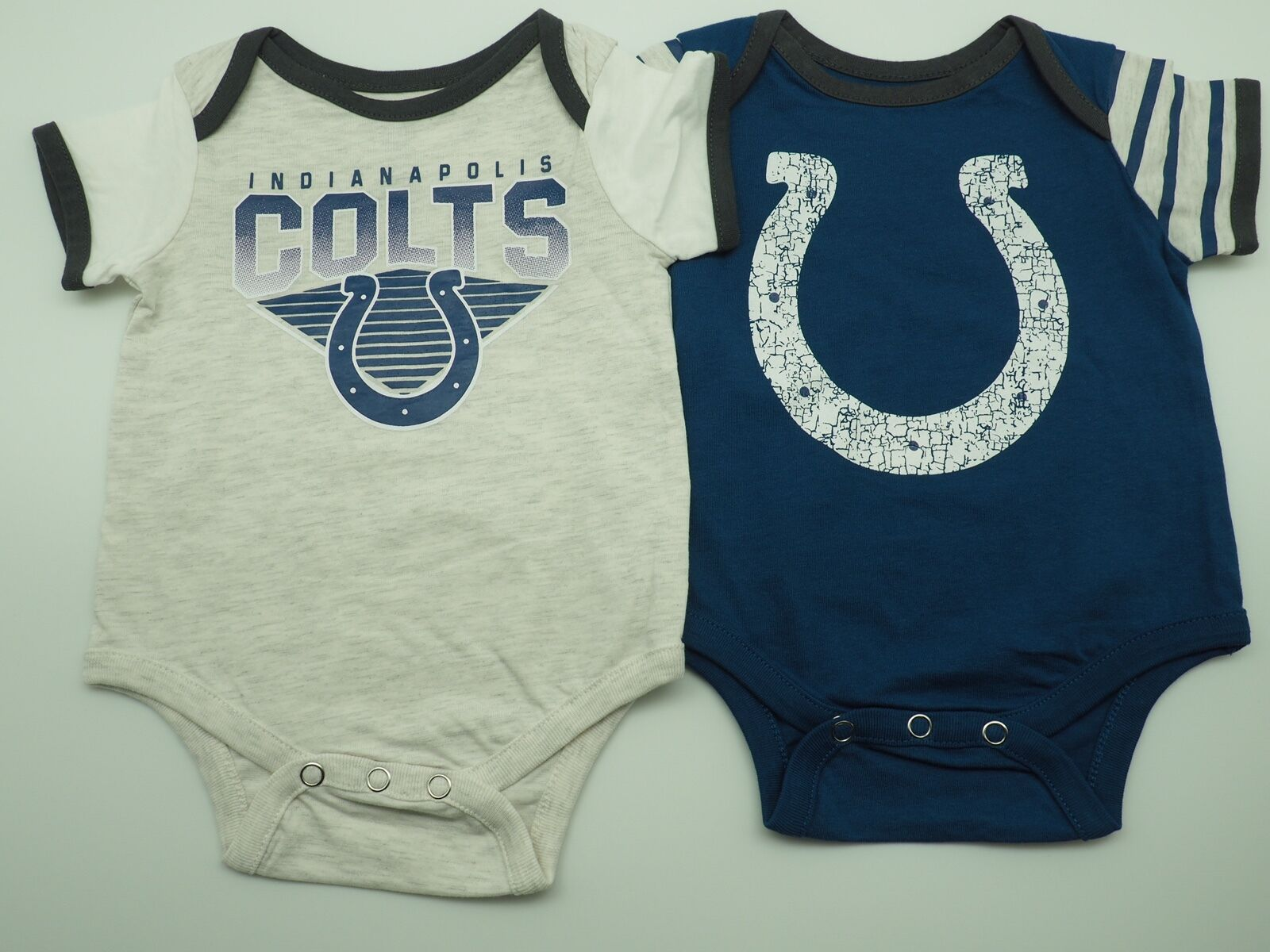 Outerstuff NFL Infant Indianapolis Colts 3 Pack Creeper Set