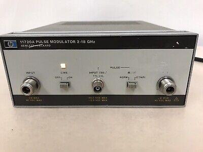 Hp Agilent 11720a Pulse Modulator 2-18ghz