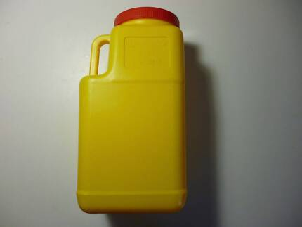 Safety flare containers