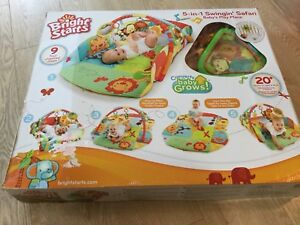 Bright Starts Swingin Safari Baby Play Place