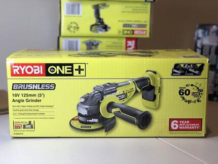 Aeg 18v brushless angle grinder kit power tools gumtree ryobi one 18v brushless angle grinder fandeluxe Gallery