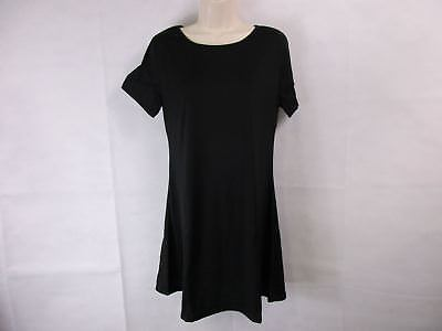 For G & PL Women's Small T-Shirt Dress Black NEW