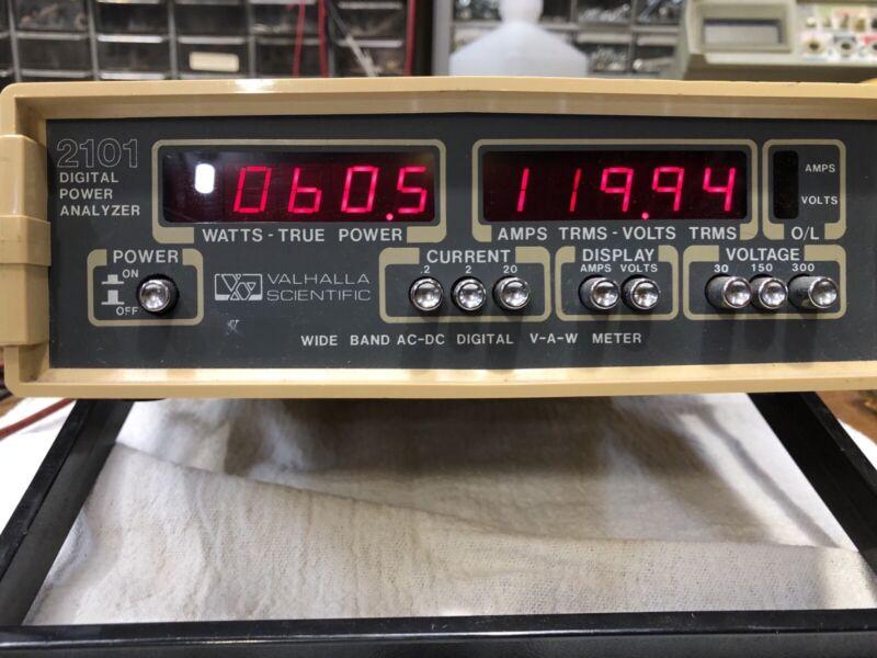 Valhalla Scientific 2101 Tested Working Power Meter