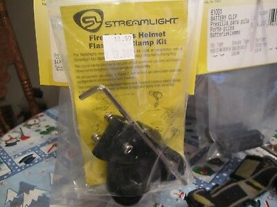 Streamlight Firefighter Helmet Flashlight Clamp Kit For 4aa Flashlight