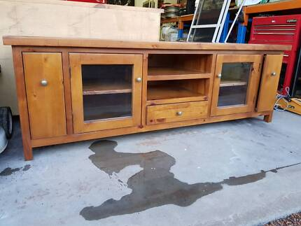 Timber TV Entertainment unit