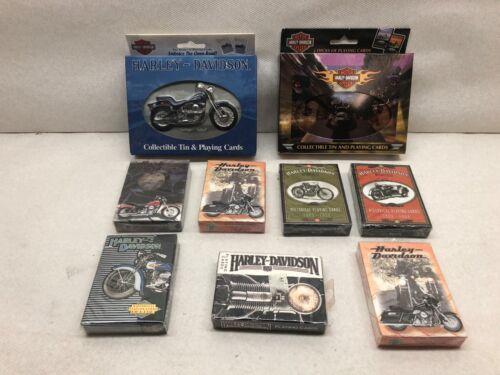 Harley Davidson Playing Cards