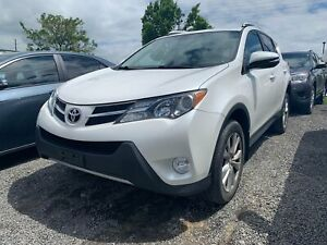 2014 Toyota RAV4 LIMITED - AWD NAVIGATION LEATHER MOONROOF 1 OWN