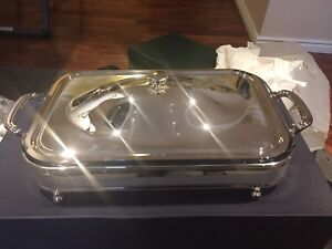 Italian Silverplated Server