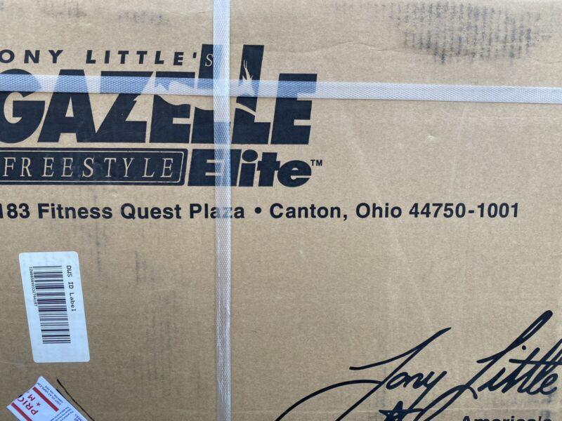 Tony Little's Gazelle Freestyle ELITE Cross Trainer - Home Exercise Machine