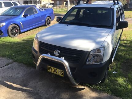 FOR SALE 2007 HOLDEN RODEO DUAL CAB