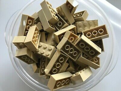 LEGO PARTS-NEW--#3001- 2 x 4 TAN  BRICKS-20 BRICKS
