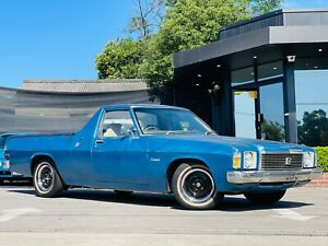 1975 Holden Kingswood HJ Utility 2dr Man 3sp 3.3 Auburn Auburn Area Preview