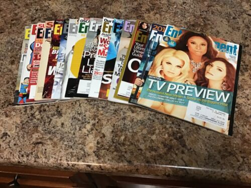 Entertainment Weekly Magazine Lot of 15 Issues from 2013