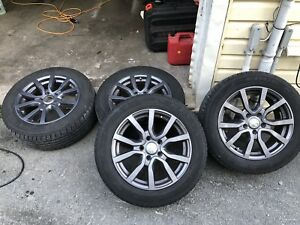 "16"" Audi rims and tires $500 OBO"