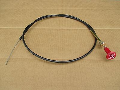 Fuel Shutoff Cable For John Deere Jd 4450 4455 4555 4630 4640 4650 4755 4850