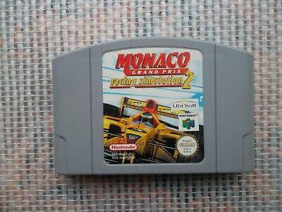 Jeu Nintendo 64 / N64 Game Monaco Grand Prix racing simulation 2 PAL original *