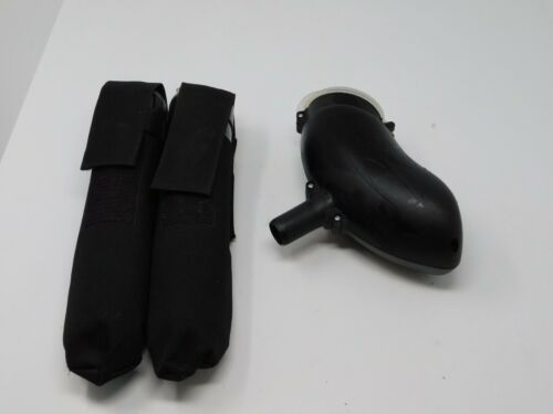 THIRTYTWO 32 DEGREES PAINTBALL HOPPER BLACK AND 2 PODS