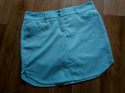Adidas Golf Röcke (Adidas Womens Golf Skort Aqua Blue Lightweight Fabric uk Size 10)