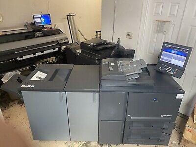 Konica Minolta Bizhub Press 1250 Copier Printer