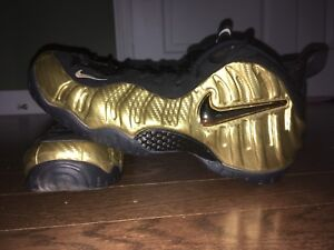 Nike Air Foamposite Pro Gold - Rarely worn