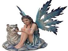 Sitting Fairy with white Tiger. Balmain Leichhardt Area Preview