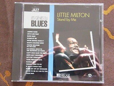 CD LITTLE MILTON - Stand By Me / Les Génies Du Blues - Editions Atlas