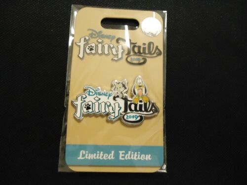 DISNEY WDW FAIRY TAILS 2019 EVENT LOGO WELCOME GIFT PLUTO FIGARO PIN LE 1250