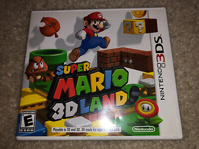 Super Mario 3D Land Nintendo 3DS Used Good Condition!