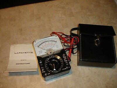 Vintage Lafayette 99-50718 Multimeter