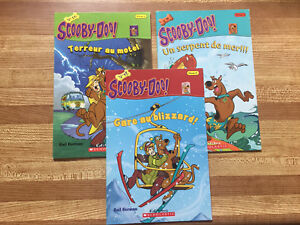 3 FRENCH version Scooby-Doo Level 2 Readers