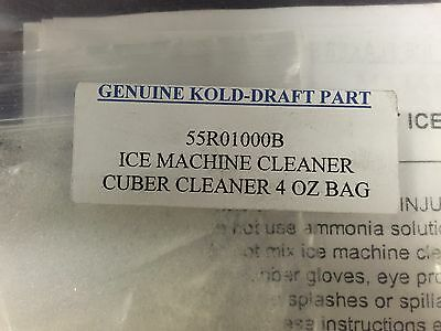 Kold-draft Ice Machine Cleaner 4 Oz. 55r01000b