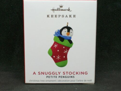 Hallmark 2021 A Snuggly Stocking - Petite Penguins 6th - Mini -NIB- FREE Ship