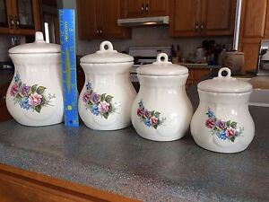 Kitchen Canisters - Set of Four