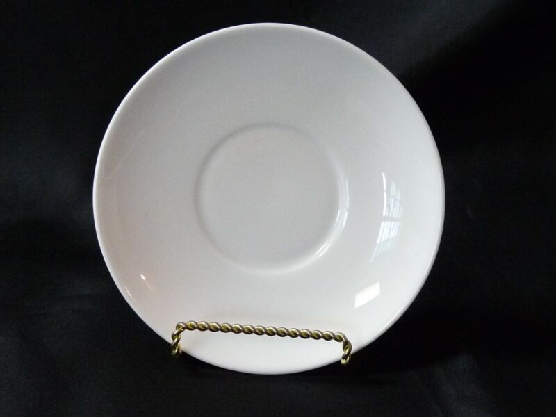 Susie Cooper Contrast Dinnerware Saucer C2068 Black/White Wedgwood Bone China