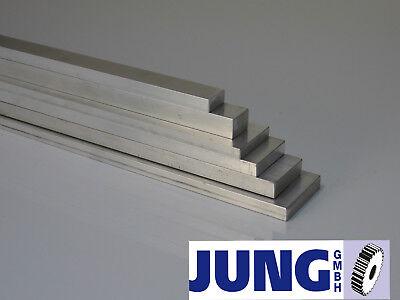 Alu Flachmaterial Flachstab Stange 12-225€/m 20x3-80x50mm L=80mm-1m AlMgSi0.5-1
