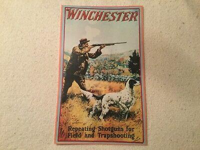 Winchester poster shotgun shells