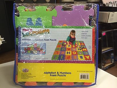Verdes Alphabet And Numbers Foam Puzzle