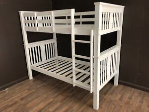 Shabby chic beach single bunk bed SYDNEY DELIVERY & ASSEMBLY AVAILABLE