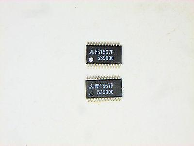 M51567p Originalmitsubishi 24p Smd Ic 2 Pcs