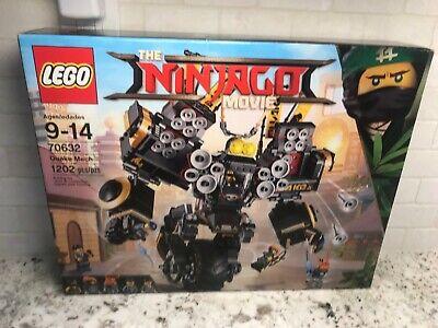 LEGO Ninjago Movie 70632 Quake Mech Set NEW Sealed