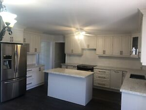1 year used kitchen cabinet