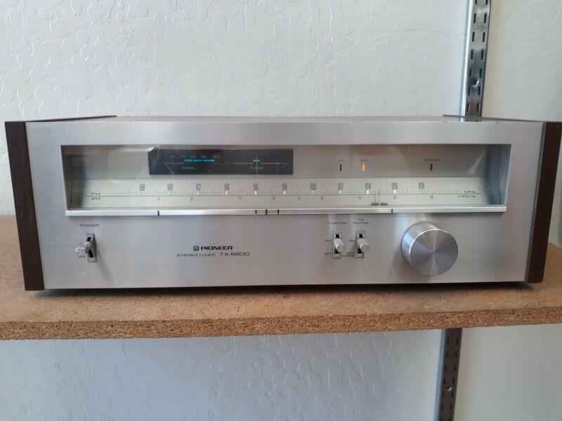 Vintage Pioneer Stereo Tuner TX-6800