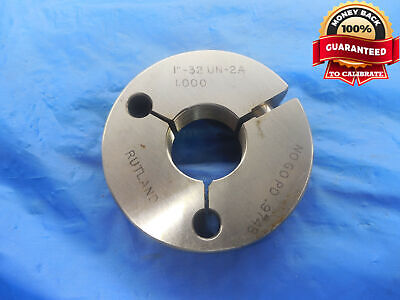 1 32 Un 2a Thread Ring Gage 1.0 No Go Only P.d. .9748 N-2a 1-32 Quality Tool