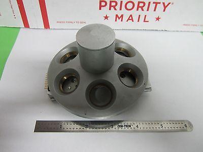 Microscope Leica Reichert Polyvar Nosepiece As Is Binf1-v-34
