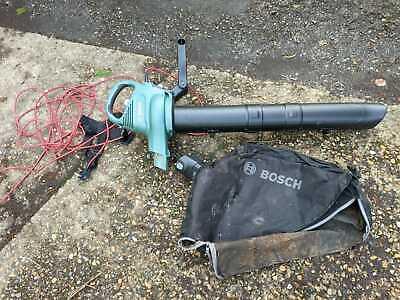 BOSCH 1800W Garden Leaf Blower, Shredder & Vacuum 230V