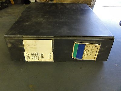 John Deere 670c 670ch 672ch 770c770ch772ch Motor Graders Manual Tm-1606